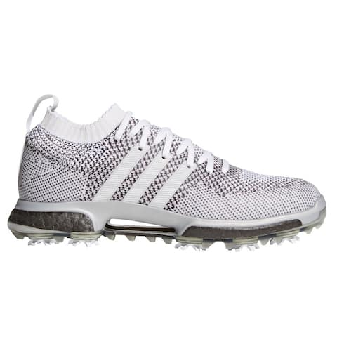 Men's Adidas Tour 360 Knit Cloud White/Grey Metallic Golf Shoes AC8527