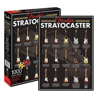 20 x 27 in. Fender Stratocaster Strat Evolution Jigsaw Puzzle,