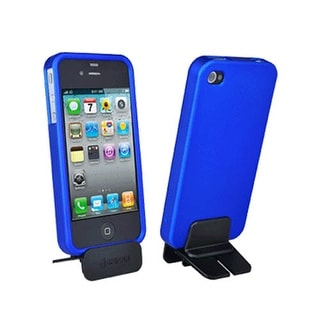 Griffin iPhone 4 Snap On Hard Cover Case - Blue (Bulk Packaging)