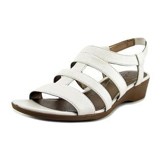 Life Stride Myleene Women Open-Toe Synthetic White Slingback Sandal