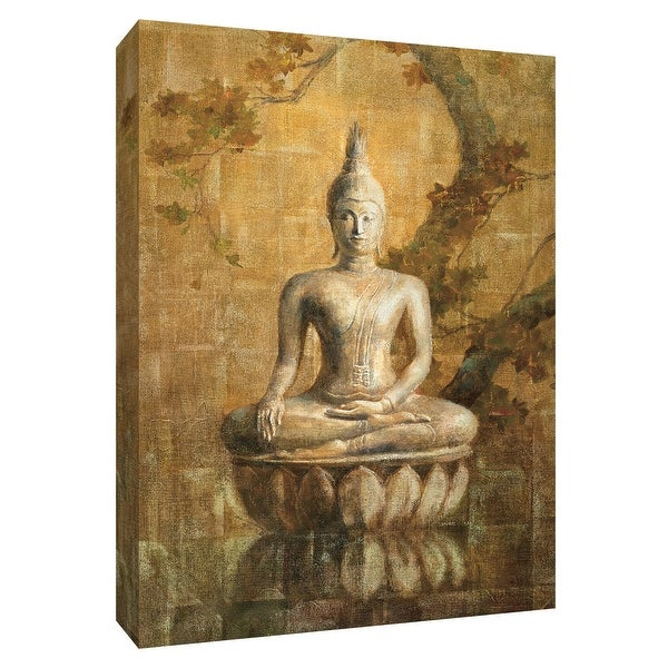 """PTM Images 9-154278 PTM Canvas Collection 10"""" x 8"""" - """"Buddha"""" Giclee Asian Art Print on Canvas"""
