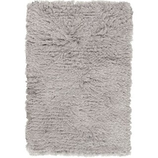 Surya WHI1003-912 Whisper 9' x 12' Rectangle Polyester Hand Woven Solid Area Rug - gray