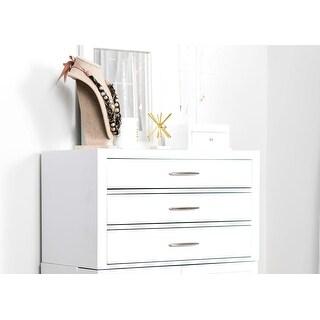 Hives & Honey 6008-479 Neil 3 Drawer Jewelry Storage Cabinet