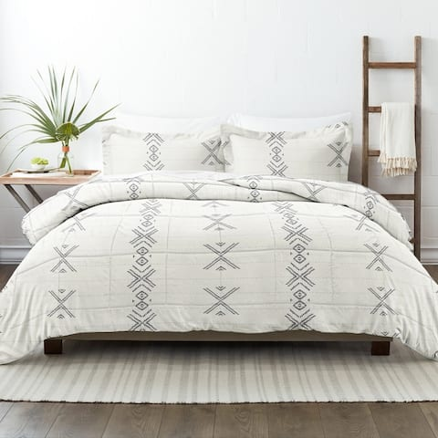 Becky Cameron Premium Urban Stitch Patterned Comforter Set