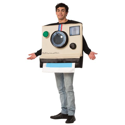 Adult Polaroid Camera Retromatic Costume - Standard - One Size