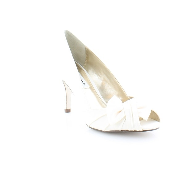 Nina Forbes Women's Heels Ivory Luster