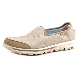 Skechers GO Walk-Aspire Women Round Toe Canvas Walking Shoe