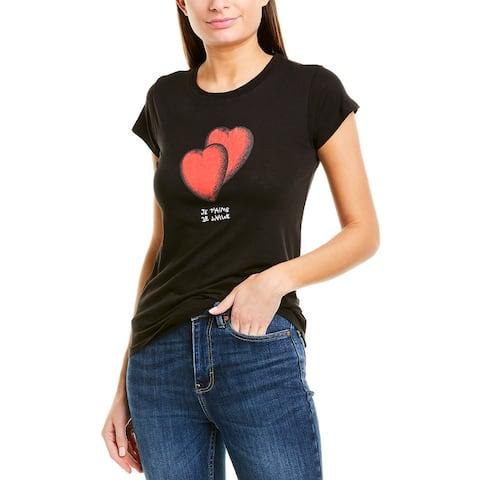 Zadig & Voltaire Skinny Hearts Top