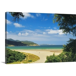 """Norman Bay at Tidal River in Wilsons Promontory National Park in, Australia"" Canvas Wall Art"