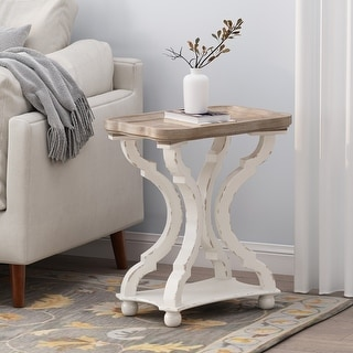 Link to Ouray French Country Accent Table with Rectangular Top by Christopher Knight Home Similar Items in Living Room Furniture