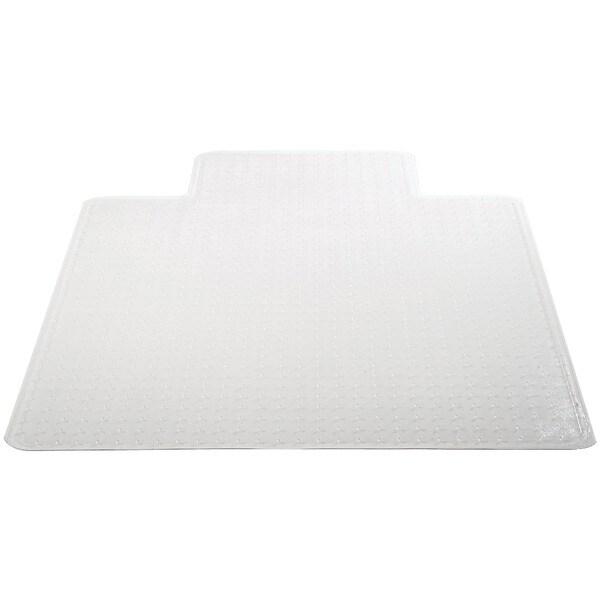 "Deflecto Cm14233Com Chair Mat With Lip For Carpets (45"" X 53"", Medium Pile)"