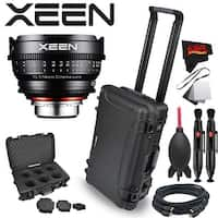 Rokinon Xeen 14mm T3.1 Lens for Canon EF Mount with Rokinon Hardshell Carrying Case - black