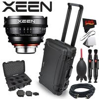 Rokinon Xeen 14mm T3.1 Lens for PL Mount with Rokinon Hardshell Carrying Case - black
