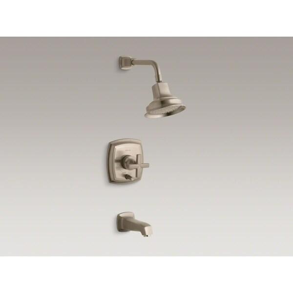 Kohler K-T16233-3 Margaux Rite-Temp Single Handle Pressure Balanced Tub and Shower Trim with Single Function Shower Head