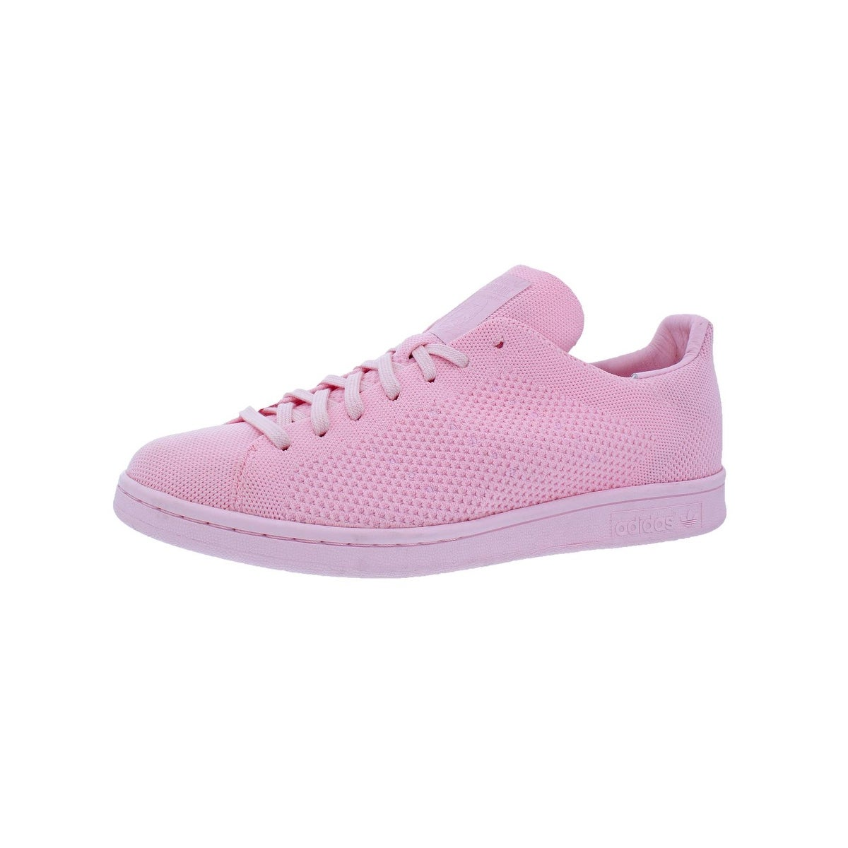 free shipping dd03e e96ae Adidas Mens Stan Smith Primeknit Fashion Sneakers Low-Top Round Toe - 9  medium (d)