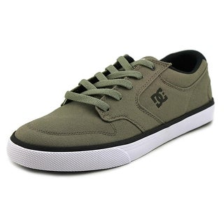 DC Shoes Nyjah Vulc TX Round Toe Canvas Sneakers