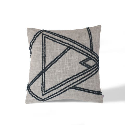 Shapes Indoor Accent Pillow 18 in Square