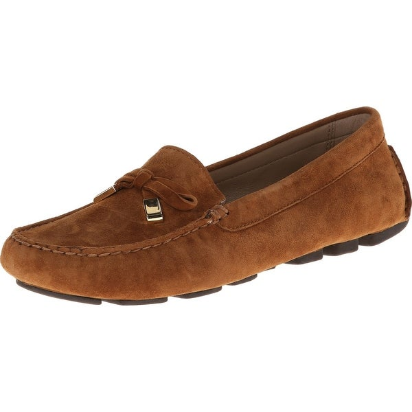 Michael Kors NEW Brown Shoes Size 10M Loafers & Moccasins Suede
