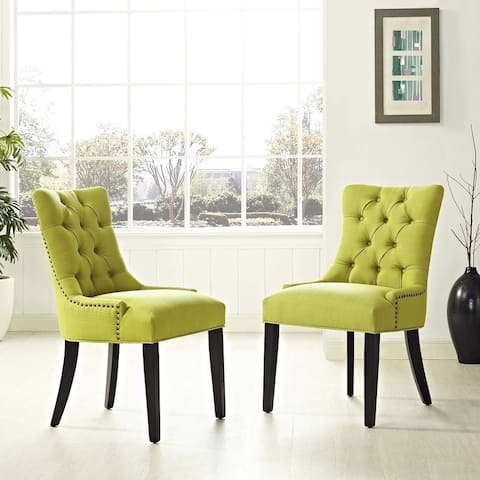 Modway Regent Fabric Dining Chair (Set of 2)