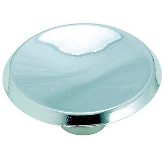 Amerock 1875358 Allison Round Cabinet Knob, Polished Chrome