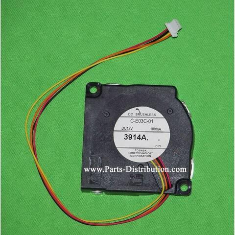 Epson Projector Fan: PowerLite 1750, 1751, 1775W, 1776W