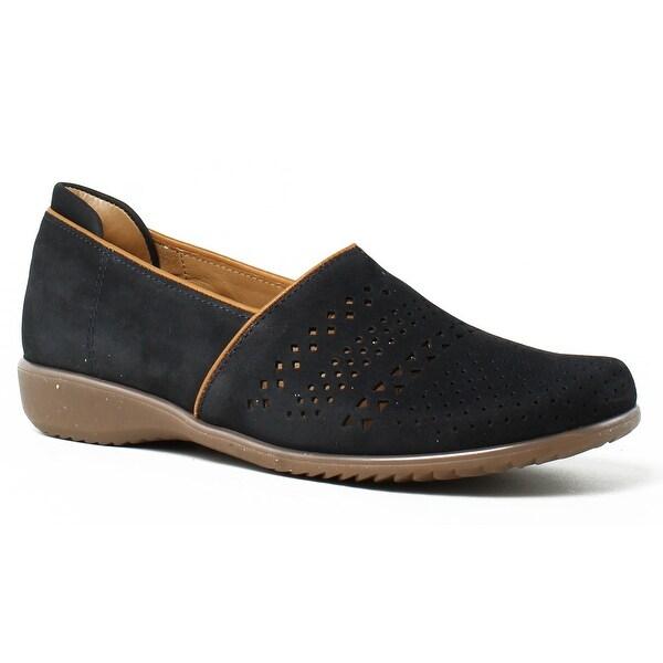 458fa8def7d Shop ara Womens 32701 BlueNubuck Loafers Size 6 - On Sale - Free ...