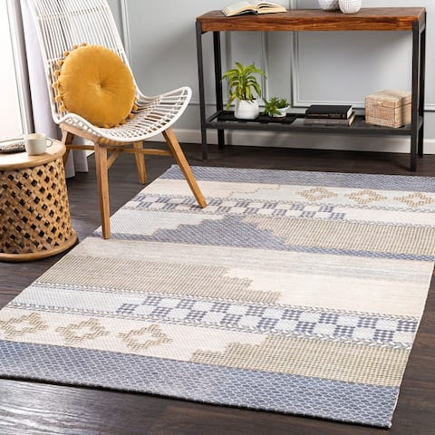 Hobbe Global Handmade Area Rug