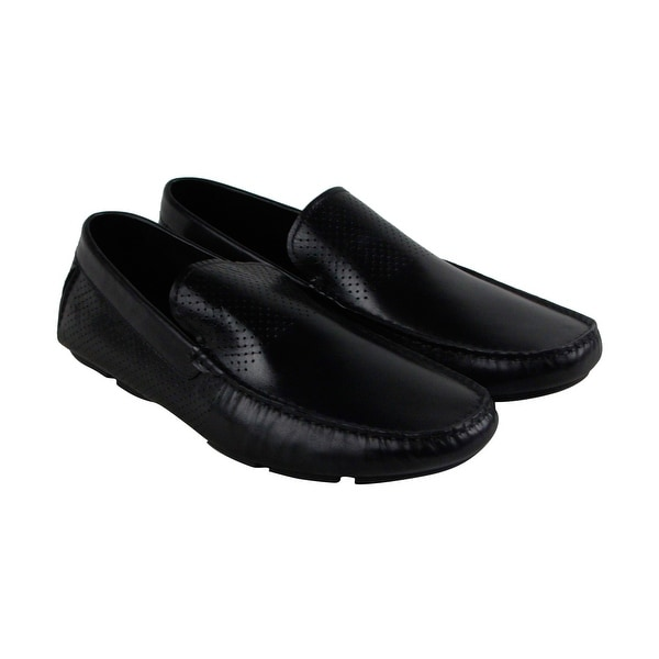 Kenneth Cole New York Multi Task Mens Black Casual Dress Loafers Shoes
