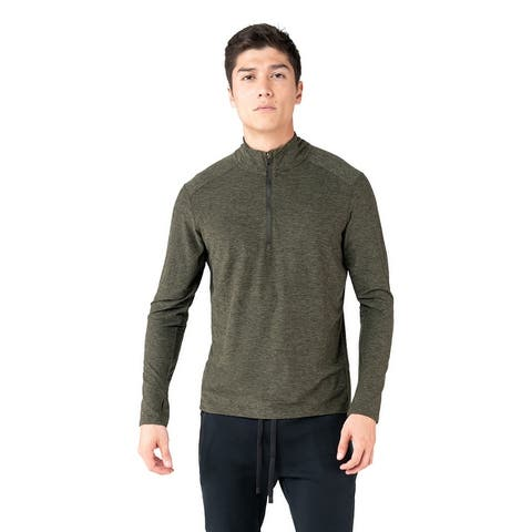 Kyodan Mens Long Sleeve Top With Zipper