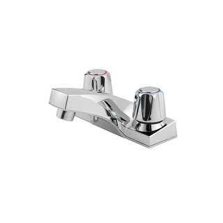 "Pfister LG143-6000  Pfirst Series Lead Free Double Handle 4"" Centerset - Polished Chrome"