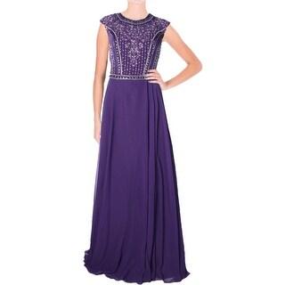 JVN by Jovani Womens Chiffon Prom Formal Dress