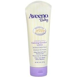 AVEENO Baby Lavender & Vanilla Calming Comfort Lotion 8 oz