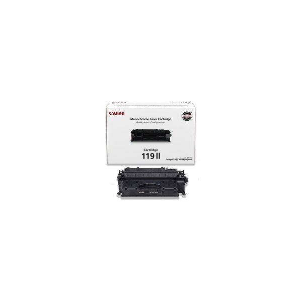 Canon CRG119II High Yield Black Toner Cartridge- 3480B001