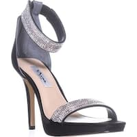 Nina Aubrie Ankle Strap Sandals, Black - 9 us / 39 eu