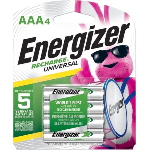 Energizer-batteries unh12bp-4 universal recharge aaa 4-pk