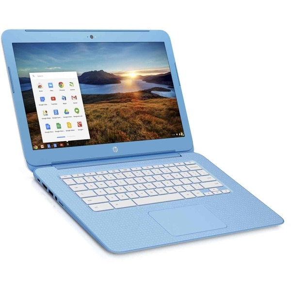 "Manufacturer Refurbished - HP Chromebook 14-ak020nr 14"" Laptop Intel N2840 2.16 GHz 2GB 16GB eMMC Chrome OS"