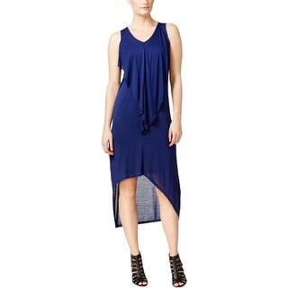 Kensie Womens Casual Dress Drape Sleeveless