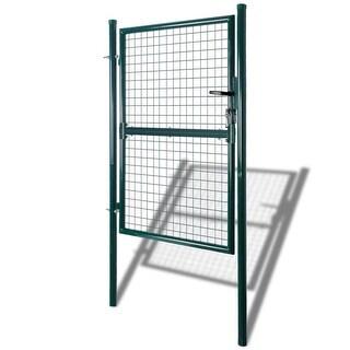"""vidaXL Garden Mesh Gate Fence Door Wall Grille 39""""W x 98""""H"""
