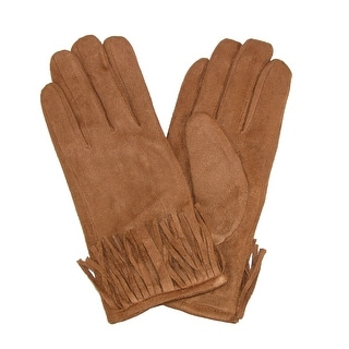 David & Young Women's Western Fringe Winter Gloves - One Size