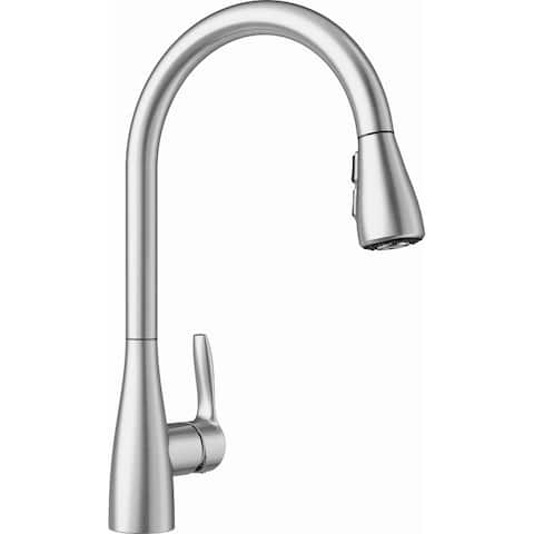 Blanco 442206 Atura 2.2 GPM Single Hole Pull Down Kitchen Faucet - Stainless