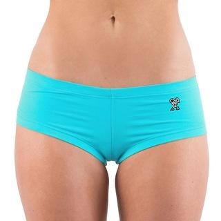 Dethrone Women's Hot Shorts - Aqua