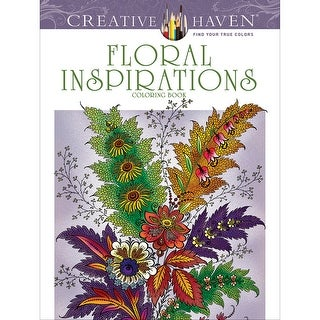 Dover Publications-Creative Haven: Floral Inspirations