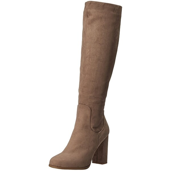 Madden Girl Womens Klash Closed Toe Knee High Fashion Boots