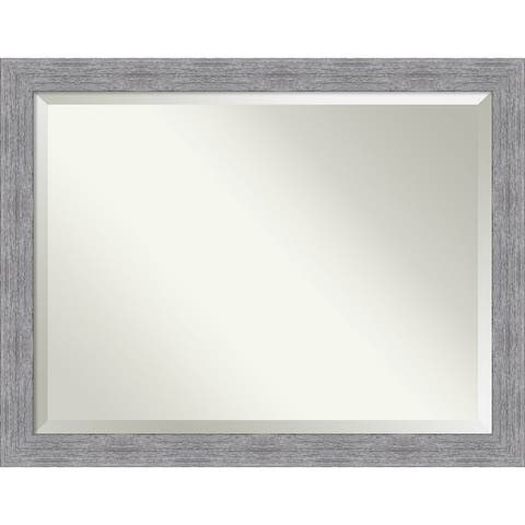 Bark Rustic Bathroom Vanity Wall Mirror