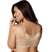Playtex Women's 18 Hour Posture Boost Front Close Wirefree Bra