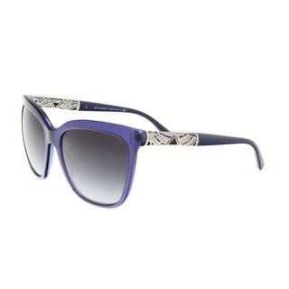 Bulgari BV8173B 5399/8G Midnight Blue Square Sunglasses - 56-17-140