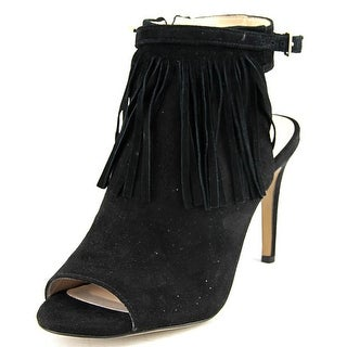 INC International Concepts Rioh Peep-Toe Leather Bootie