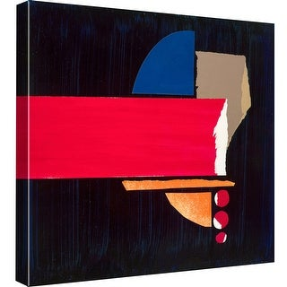 """PTM Images 9-98991  PTM Canvas Collection 12"""" x 12"""" - """"Shape Shifter No.4"""" Giclee Abstract Art Print on Canvas"""