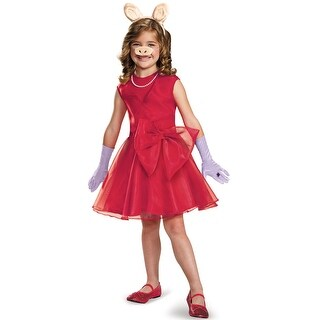 Disguise Miss Piggy Classic Child Costume - Red