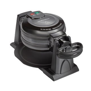 Link to Hamilton Beach Double Rotating Belgian Waffle Maker with Removable Nonstick Plates Similar Items in Kitchen Appliances